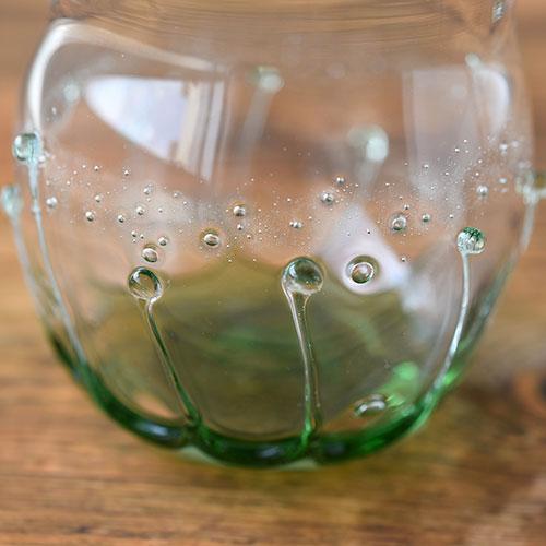 雫の丸グラス(ミントグリーン)/小林 亮二