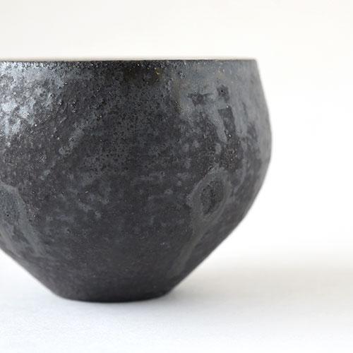 ほっこり湯呑・大【陶器・灰釉】/十河 隆史